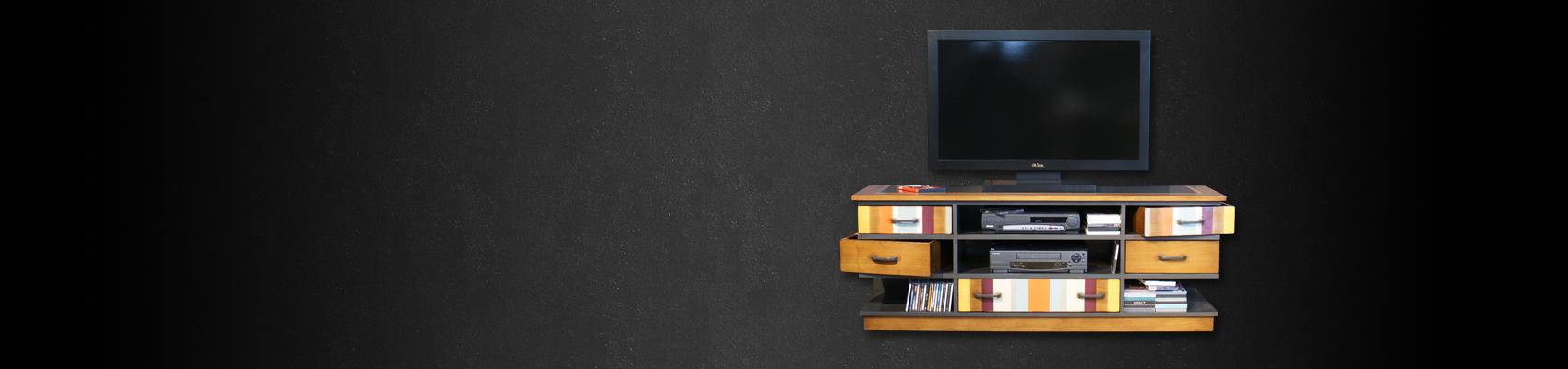 Meuble Tv Qui Rentre : Meuble Tv
